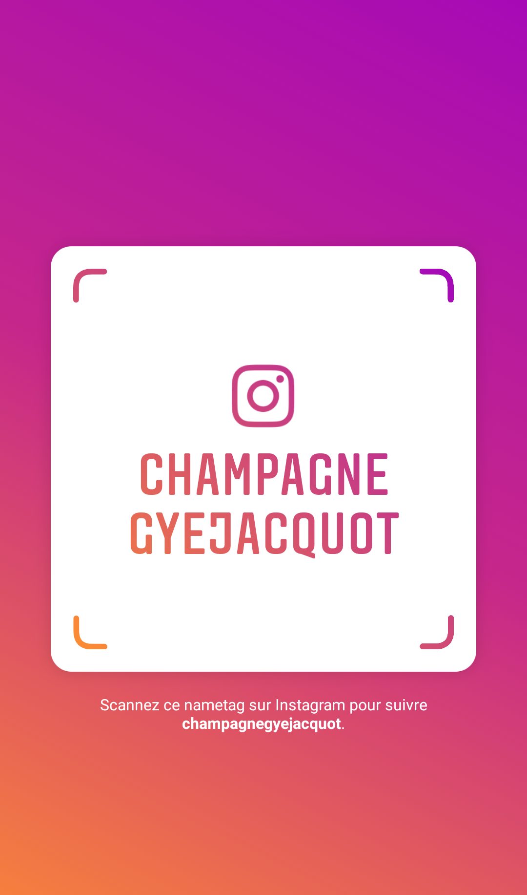 champagne gyejacquot instagram